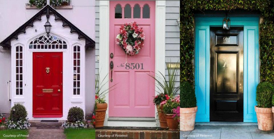 bold front doors