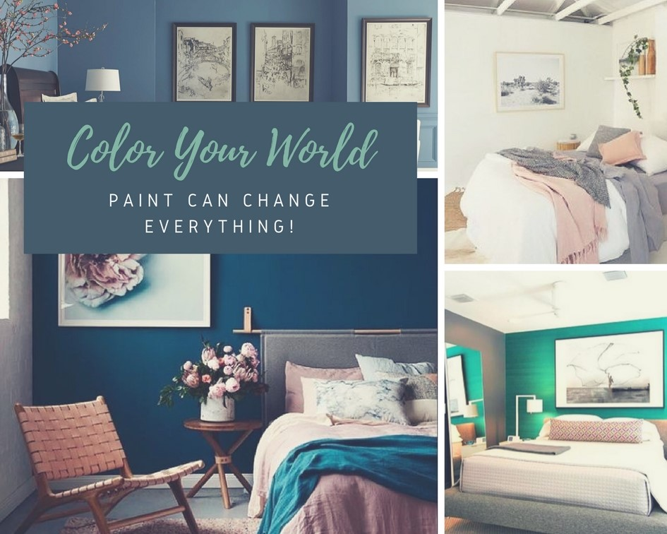bedroom paint makeover ideas